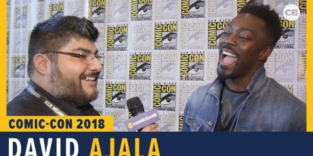 David Ajala - SDCC 2018 Exclusive Interview screen capture
