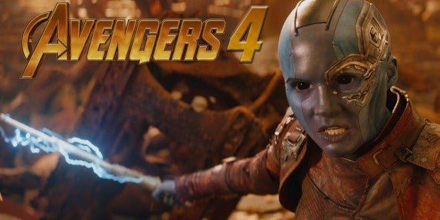 Did Karen Gillan Reveal an 'Avengers 4' Spoiler?! screen capture