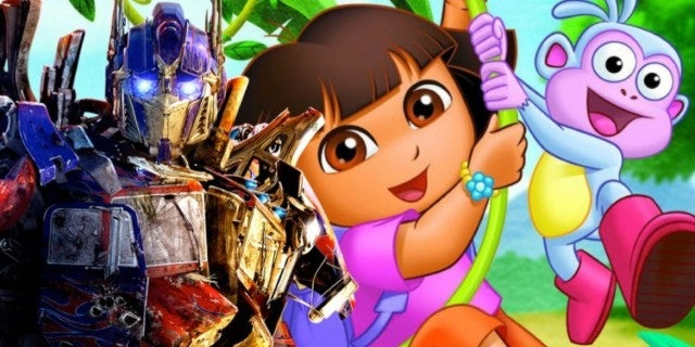 Dora the Explorer movie michael bay