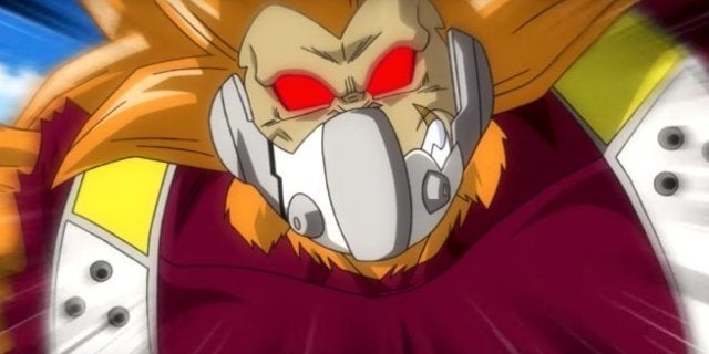 Dragon Ball Hereoes Cumber Golden Oozaru Great Ape Form