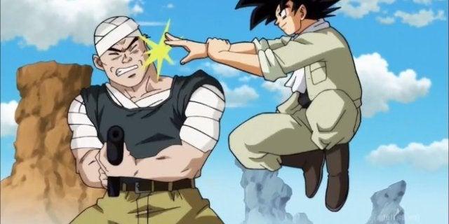 Dragon Ball Super 77 Goku vs Robbers