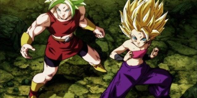 Dragon Ball Super Kale and Caulifla English Dub Reactions