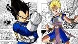 Dragon Ball Super Manga Vegeta Saves Cabba ToP