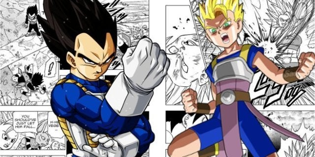 Dragon Ball Super Manga Vegeta Saves Cabba ToP