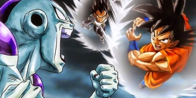 Dragon Ball Super Movie Goku Vegeta vs Freeza
