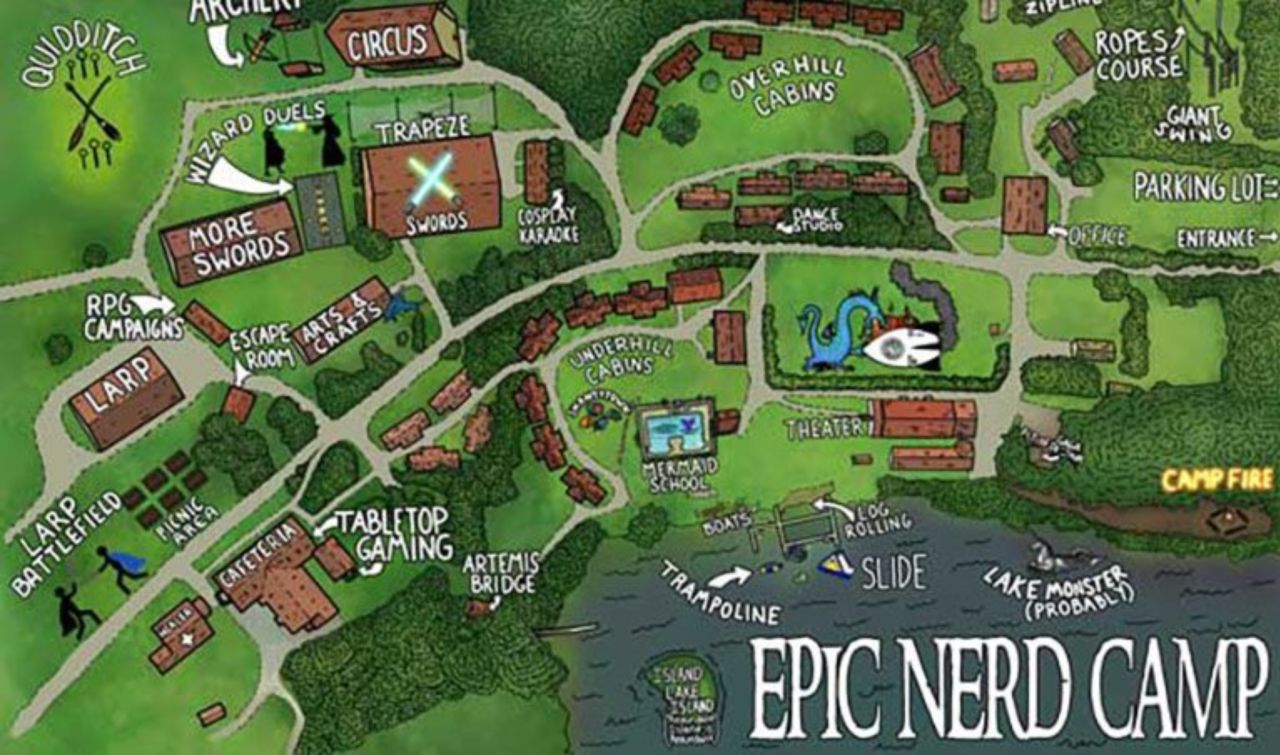 Epic Nerd Camp Offers Summer Camp For Adults