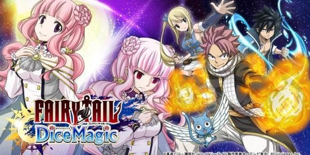 Fairy Tail dice magic