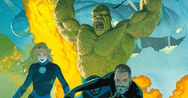 Fantastic Four Heart of Marvel - Cover
