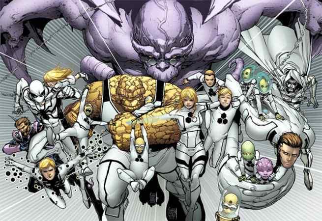 Fantastic Four Heart of Marvel - Exploration