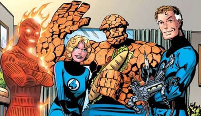 Fantastic Four Heart of Marvel - Family