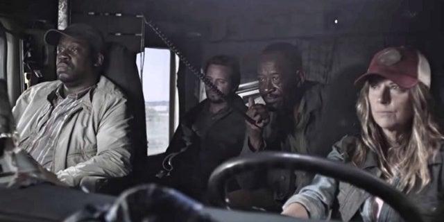 Fear The Walking Dead Morgan Wendell Sarah Jim