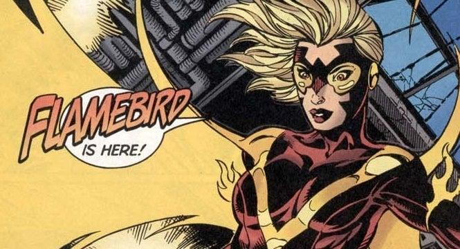 flamebird dc comics