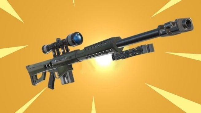 fortnite &quot;title =&quot; fortnite &quot;height =&quot; 369 &quot;width =&quot; 655 &quot;data item =&quot; 1128255 &quot;/&gt;    <figcaption> Photo: Dexerto) </span><br /> <time>   19659004] It&#39;s here. The brand new, long-rumored, often leaked Heavy Sniper is &quot;coming soon&quot; to <em> Fortnite </em> probably with Tuesday&#39;s update. </p> <p>  The news comes the way of an in-game &quot;New Updates&quot; Notice that the new heavy weapon will be available in Epic (Purple) and Legendary (Orange / Yellow), and will, as expected, deal with major damage to structures. </p> <blockquote class=