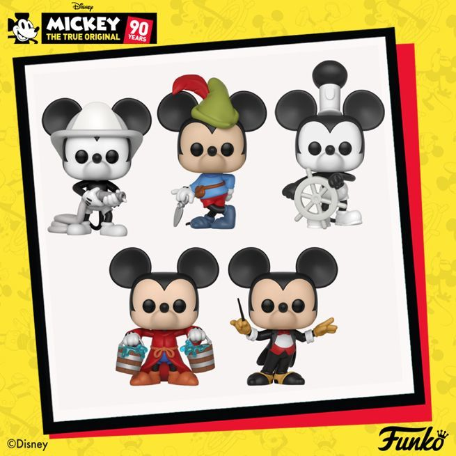 disney s mickey mouse celebrates 90 years with special funko pops