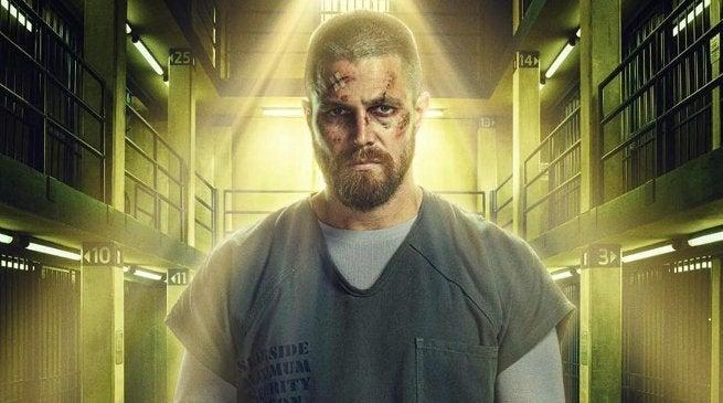Green Arrow Season 7 Poster - Oliver Queen Super Max Prison