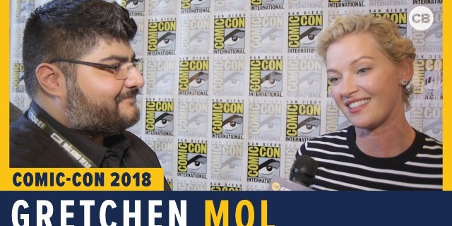 Gretchen Mol - SDCC 2018 Exclusive Interview screen capture