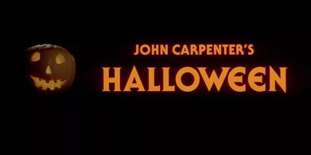 halloween movie 1978 logo pumpkin