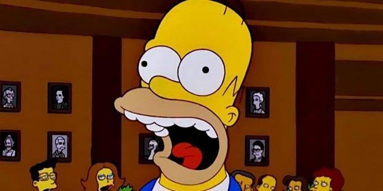 homer simpson screaming