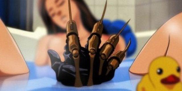 Horror Movies as Anime