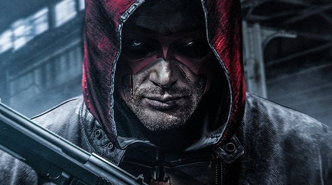 Jensen Ackles as Red Hood by BossLogic