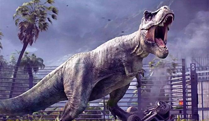 jurassic world evolution getting huge update next month