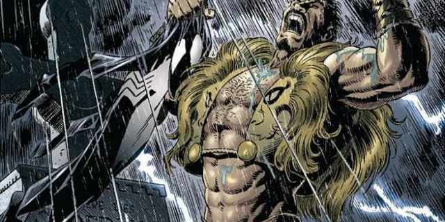 Kraven in Spider-Man Movie - Cover