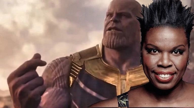 leslie jones infinity war