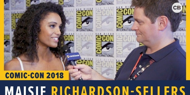 Maisie Richardson-Sellers - SDCC 2018 Exclusive Interview screen capture