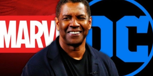 Marvel DC Denzel Washington comicbookcom