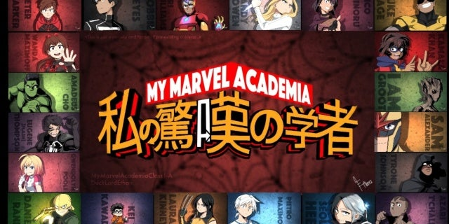 Marvel's My Hero Academia Class 1-A by DuckLordEthan @ DeviantART