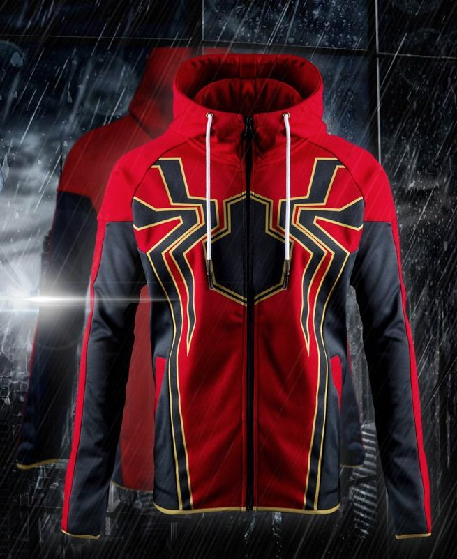 5032089e The Official 'Avengers: Infinity War' Iron Spider Hoodie Is Here