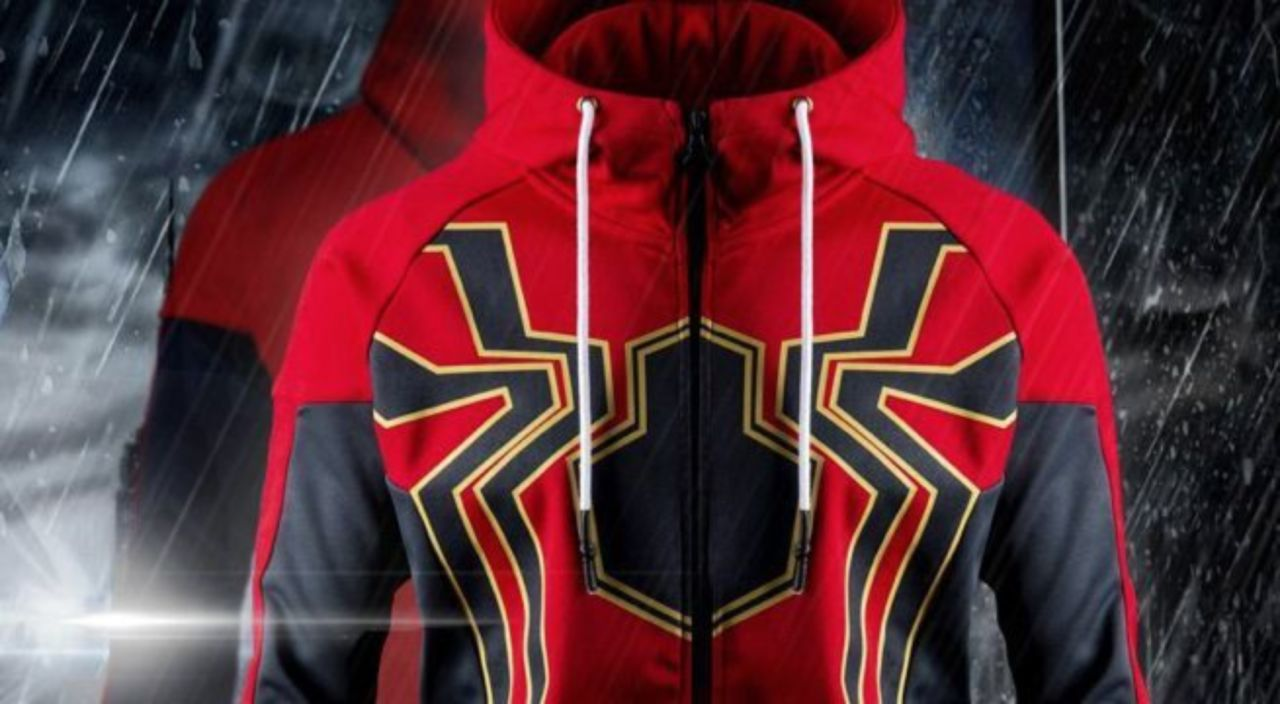 3370b3aa The Official 'Avengers: Infinity War' Iron Spider Hoodie Is Here