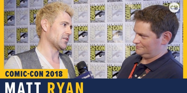 Matt Ryan - SDCC 2018 Exclusive Interview screen capture