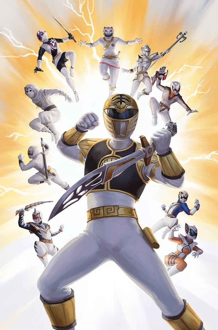 Power Rangers Beyond The Grid Covers Reveal Unmorphed Rangers