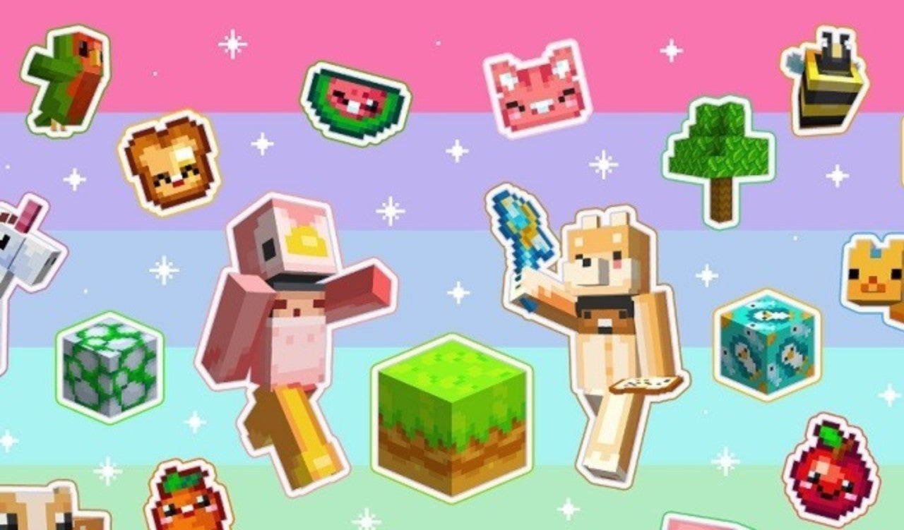 Minecraft Gets an Adorable Texture Pack
