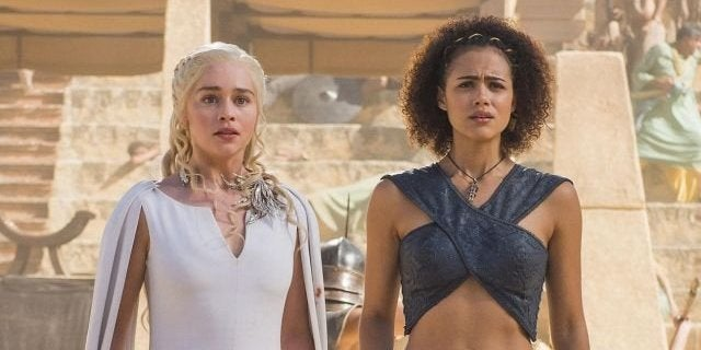 nathalie emmanuel emilia clarke game of thrones