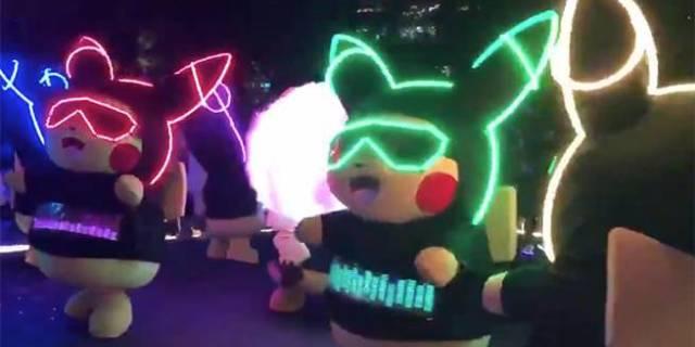 neon pikachu 2