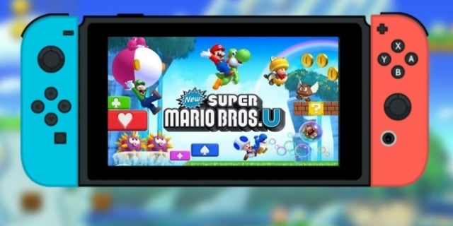 new super mario bros u switch