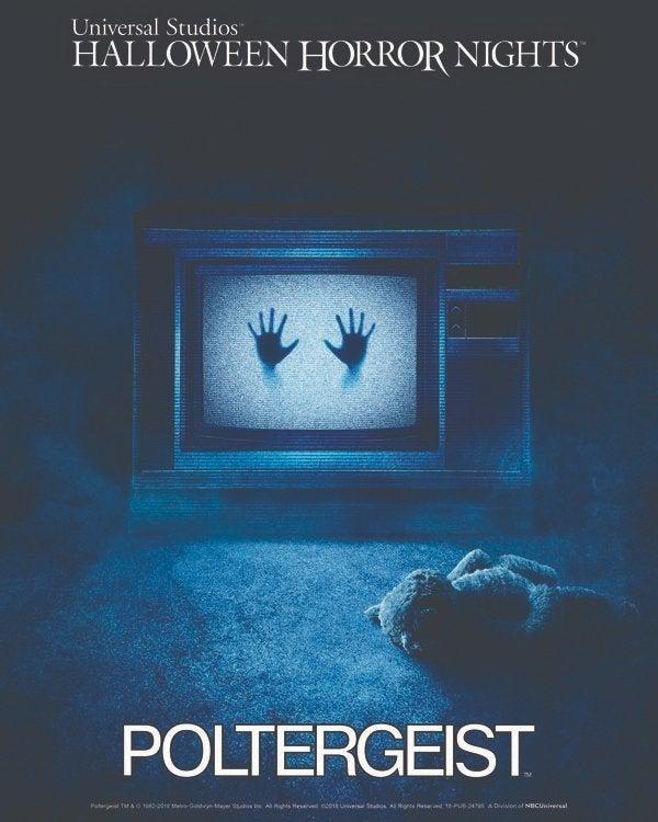 poltergeist halloween horror nights universal studios