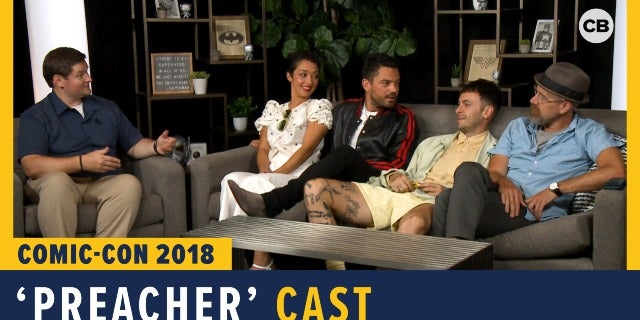 Preacher - SDCC 2018 Exclusive Interview screen capture