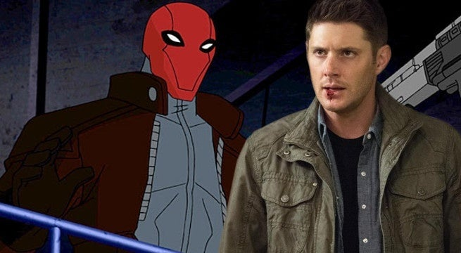 red hood dean winchester supernatural batman