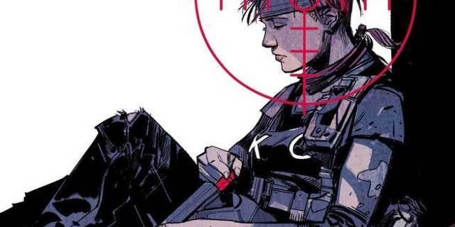 Review Scarlet #1 - Cover