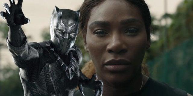 Serena Williams Black Panther