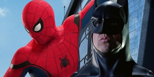 spider man homecoming batman michael keaton