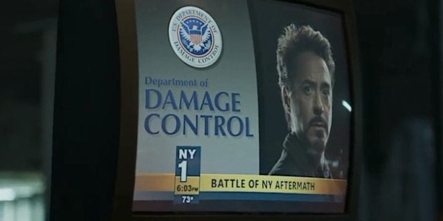Spider-Man Homecoming Damage Control Easter Egg