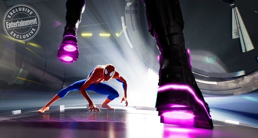 spider-man into the spider-verse villain bombshell