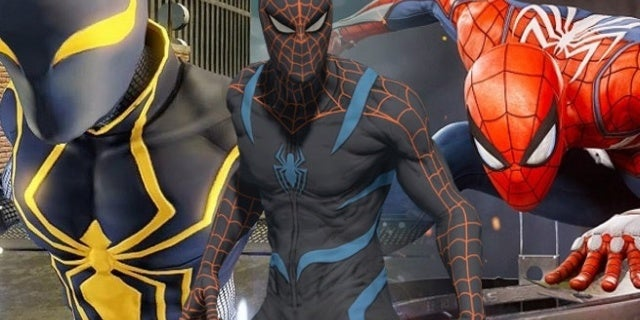 spider-man ps4 costumes