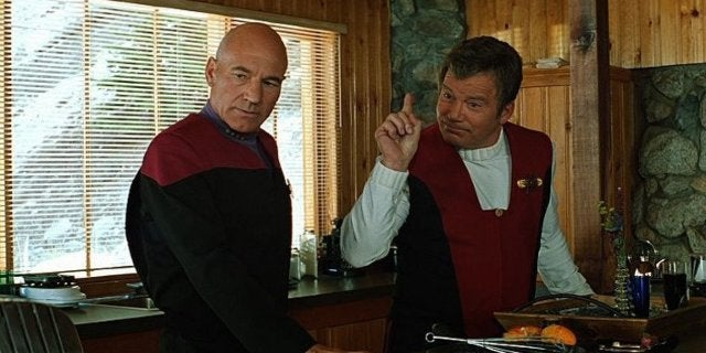Star Trek Generation Picard Kirk