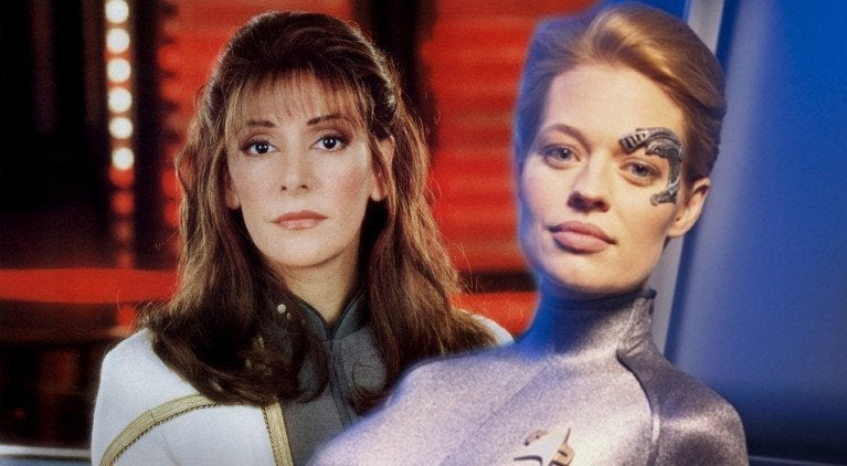 Star Trek Troi Seven of Nine