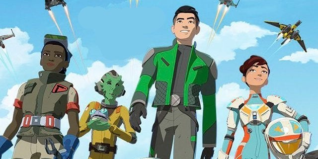 star wars resistance characters pilots crew